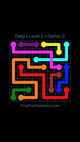 Solution and Answer to the Puzzle for Bridges Date Saturday, May 12, 2018 Level 2