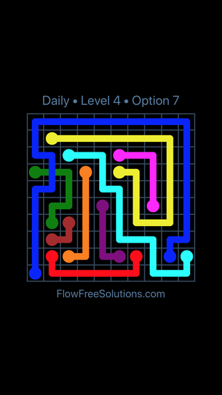 Solution and Answer to the Puzzle for Bridges Date Sunday, May 13, 2018 Level 4
