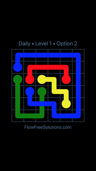 Solution and Answer to the Puzzle for Bridges Date Monday, May 14, 2018 Level 1