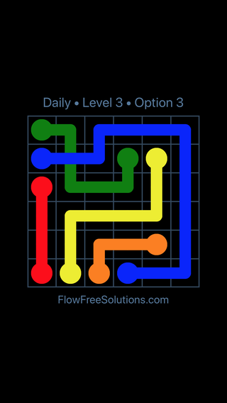 Solution and Answer to the Puzzle for Bridges Date Monday, May 14, 2018 Level 3