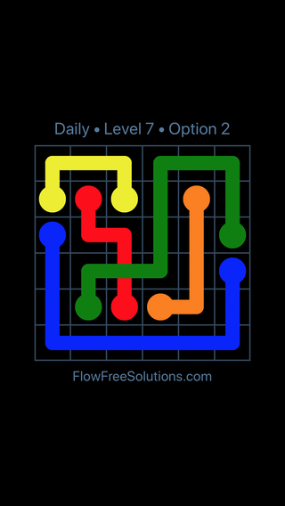Solution and Answer to the Puzzle for Bridges Date Monday, August 6, 2018 Level 7