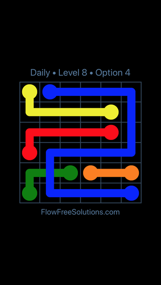 Solution and Answer to the Puzzle for Bridges Date Monday, May 14, 2018 Level 8