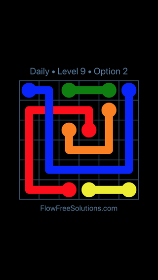 Solution and Answer to the Puzzle for Bridges Date Monday, May 14, 2018 Level 9