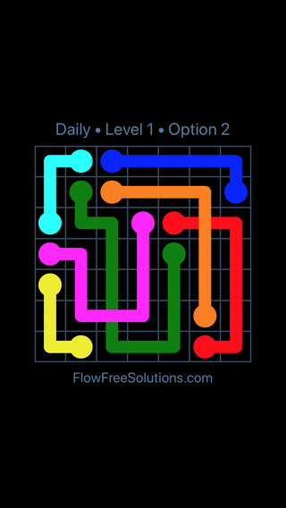 Solution and Answer to the Puzzle for Bridges Date Tuesday, May 15, 2018 Level 1