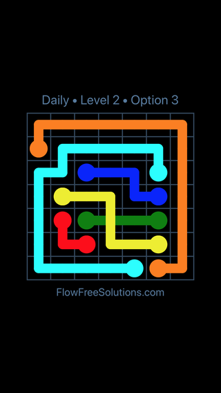 Solution and Answer to the Puzzle for Bridges Date Tuesday, August 7, 2018 Level 2