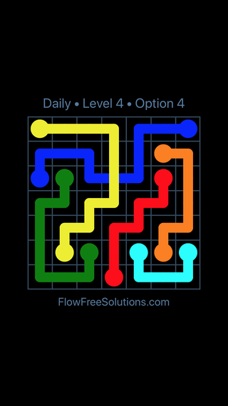 Solution and Answer to the Puzzle for Bridges Date Tuesday, August 7, 2018 Level 4