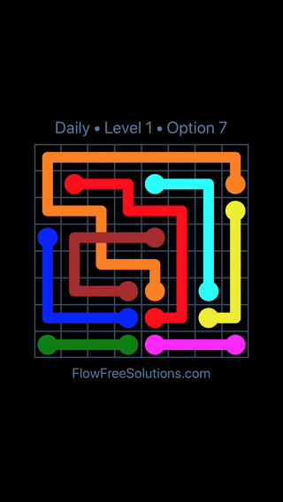 Solution and Answer to the Puzzle for Bridges Date Wednesday, August 8, 2018 Level 1