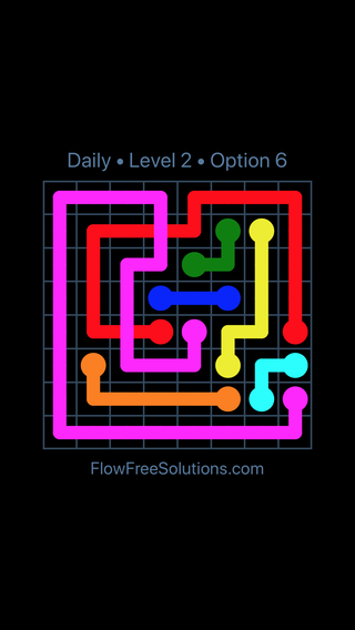Solution and Answer to the Puzzle for Bridges Date Wednesday, May 16, 2018 Level 2