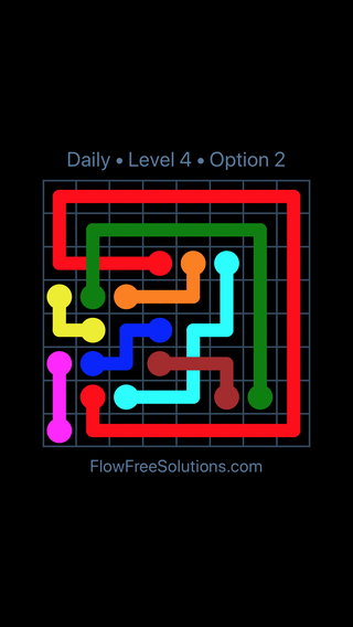 Solution and Answer to the Puzzle for Bridges Date Wednesday, May 16, 2018 Level 4