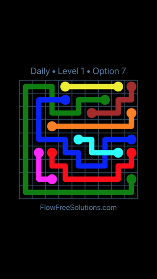 Solution and Answer to the Puzzle for Bridges Date Thursday, April 18, 2019 Level 1