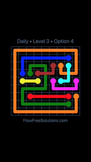Solution and Answer to the Puzzle for Bridges Date Thursday, August 9, 2018 Level 3