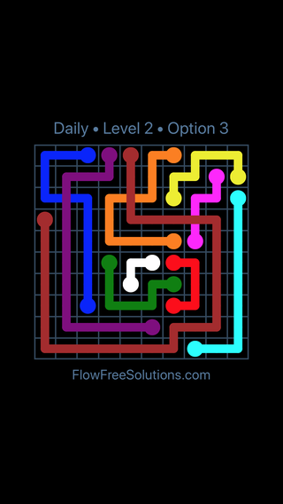 Solution and Answer to the Puzzle for Bridges Date Friday, August 10, 2018 Level 2