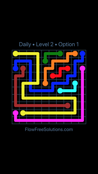 Solution and Answer to the Puzzle for Bridges Date Friday, January 12, 2018 Level 2