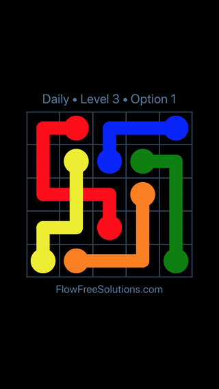 Solution and Answer to the Puzzle for Bridges Date Monday, November 5, 2018 Level 3