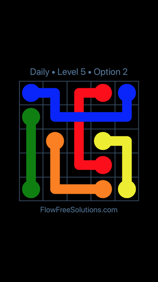 Solution and Answer to the Puzzle for Bridges Date Monday, December 4, 2017 Level 5