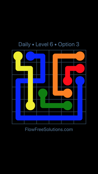 Solution and Answer to the Puzzle for Bridges Date Tuesday, December 5, 2017 Level 6