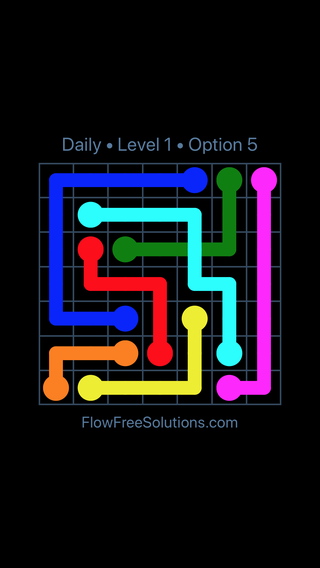 Solution and Answer to the Puzzle for Bridges Date Thursday, November 8, 2018 Level 1