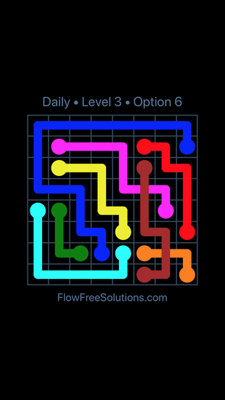 Solution and Answer to the Puzzle for Bridges Date Thursday, November 8, 2018 Level 3