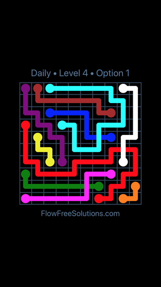 Solution and Answer to the Puzzle for Bridges Date Saturday, November 10, 2018 Level 4