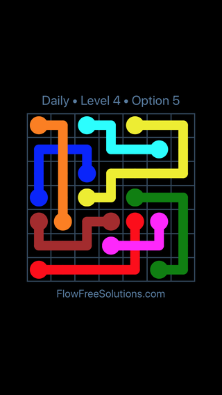 Solution and Answer to the Puzzle for Bridges Date Sunday, September 13, 2020 Level 4