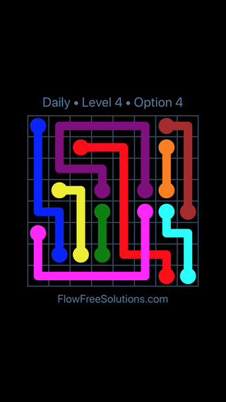 Solution and Answer to the Puzzle for Bridges Date Wednesday, September 16, 2020 Level 4