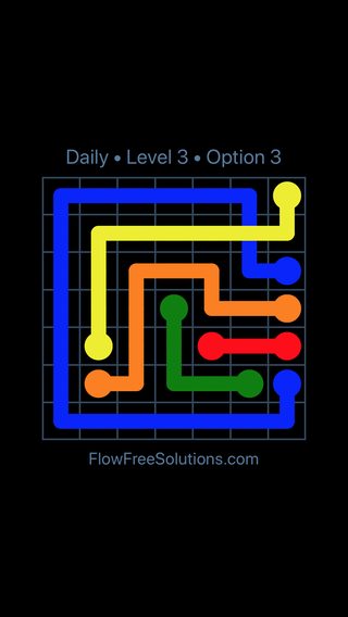 Solution and Answer to the Puzzle for Bridges Date Thursday, February 7, 2019 Level 3