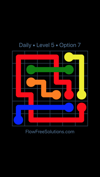 Solution and Answer to the Puzzle for Bridges Date Thursday, February 7, 2019 Level 5