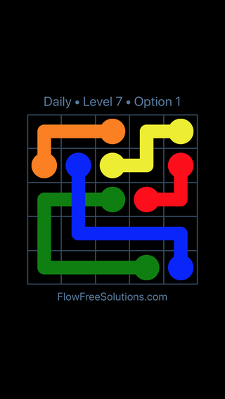 Solution and Answer to the Puzzle for Bridges Date Thursday, February 7, 2019 Level 7