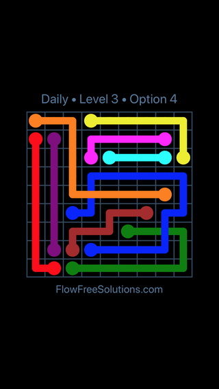 Solution and Answer to the Puzzle for Bridges Date Saturday, February 9, 2019 Level 3
