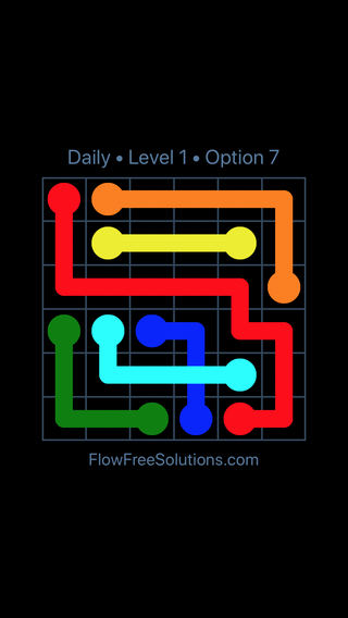 Solution and Answer to the Puzzle for Bridges Date Monday, February 11, 2019 Level 1