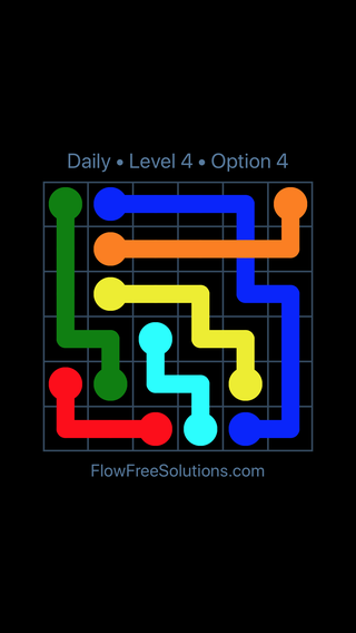 Solution and Answer to the Puzzle for Bridges Date Monday, February 11, 2019 Level 4