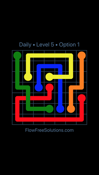 Solution and Answer to the Puzzle for Bridges Date Monday, February 11, 2019 Level 5