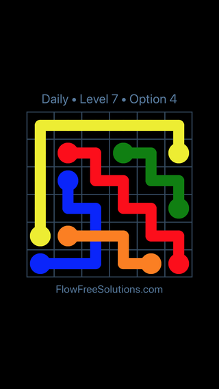 Solution and Answer to the Puzzle for Bridges Date Monday, February 11, 2019 Level 7