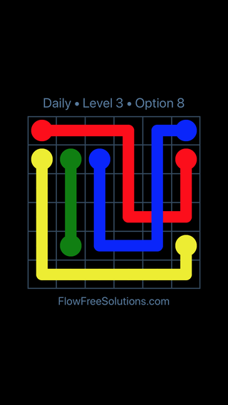 Solution and Answer to the Puzzle for Bridges Date Tuesday, February 12, 2019 Level 3