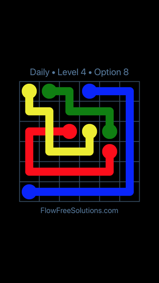Solution and Answer to the Puzzle for Bridges Date Tuesday, February 12, 2019 Level 4