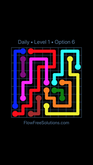 Solution and Answer to the Puzzle for Bridges Date Friday, June 8, 2018 Level 1