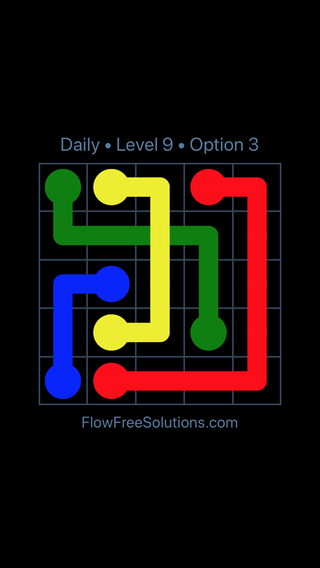 Solution and Answer to the Puzzle for Bridges Date Sunday, June 10, 2018 Level 9