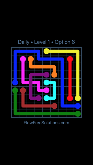 Solution and Answer to the Puzzle for Bridges Date Monday, June 11, 2018 Level 1