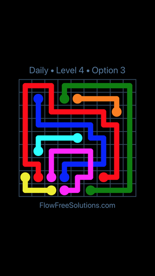 Solution and Answer to the Puzzle for Bridges Date Monday, June 11, 2018 Level 4