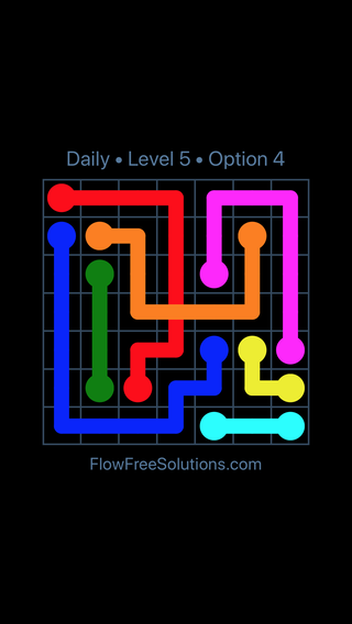 Solution and Answer to the Puzzle for Bridges Date Wednesday, June 13, 2018 Level 5