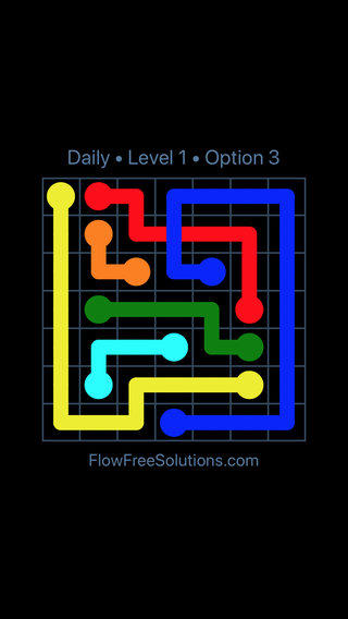 Solution and Answer to the Puzzle for Bridges Date Thursday, June 14, 2018 Level 1