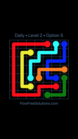 Solution and Answer to the Puzzle for Bridges Date Thursday, June 14, 2018 Level 2
