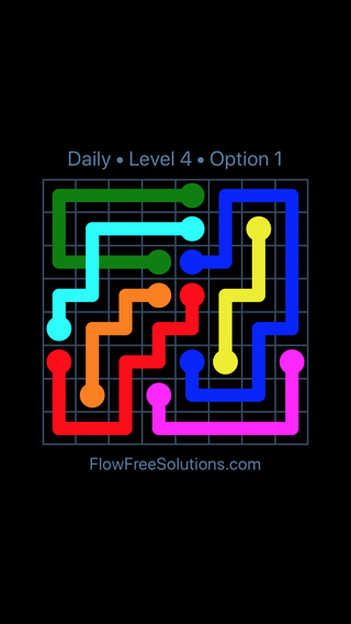 Solution and Answer to the Puzzle for Bridges Date Thursday, June 14, 2018 Level 4