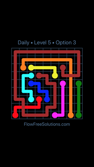 Solution and Answer to the Puzzle for Bridges Date Thursday, June 14, 2018 Level 5