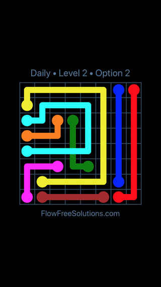 Solution and Answer to the Puzzle for Bridges Date Friday, August 9, 2019 Level 2