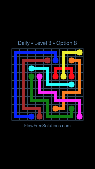 Solution and Answer to the Puzzle for Bridges Date Saturday, August 10, 2019 Level 3