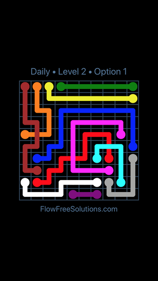 Solution and Answer to the Puzzle for Bridges Date Monday, September 10, 2018 Level 2