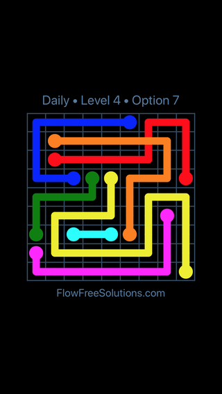 Solution and Answer to the Puzzle for Bridges Date Monday, December 3, 2018 Level 4