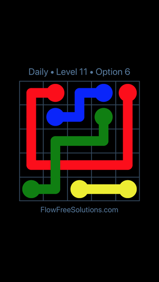 Solution and Answer to the Puzzle for Bridges Date Tuesday, September 11, 2018 Level 11