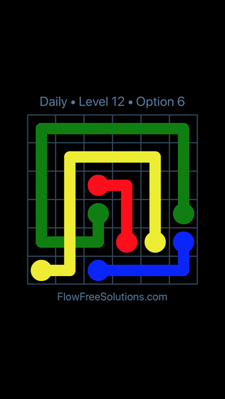 Solution and Answer to the Puzzle for Bridges Date Tuesday, August 13, 2019 Level 12
